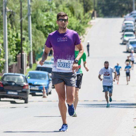 Paweł Mitruś na trasie