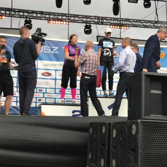 Gosia na podium