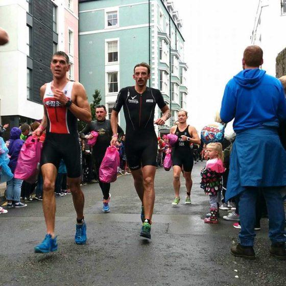 Paweł Kalinowski w trakcie biegu